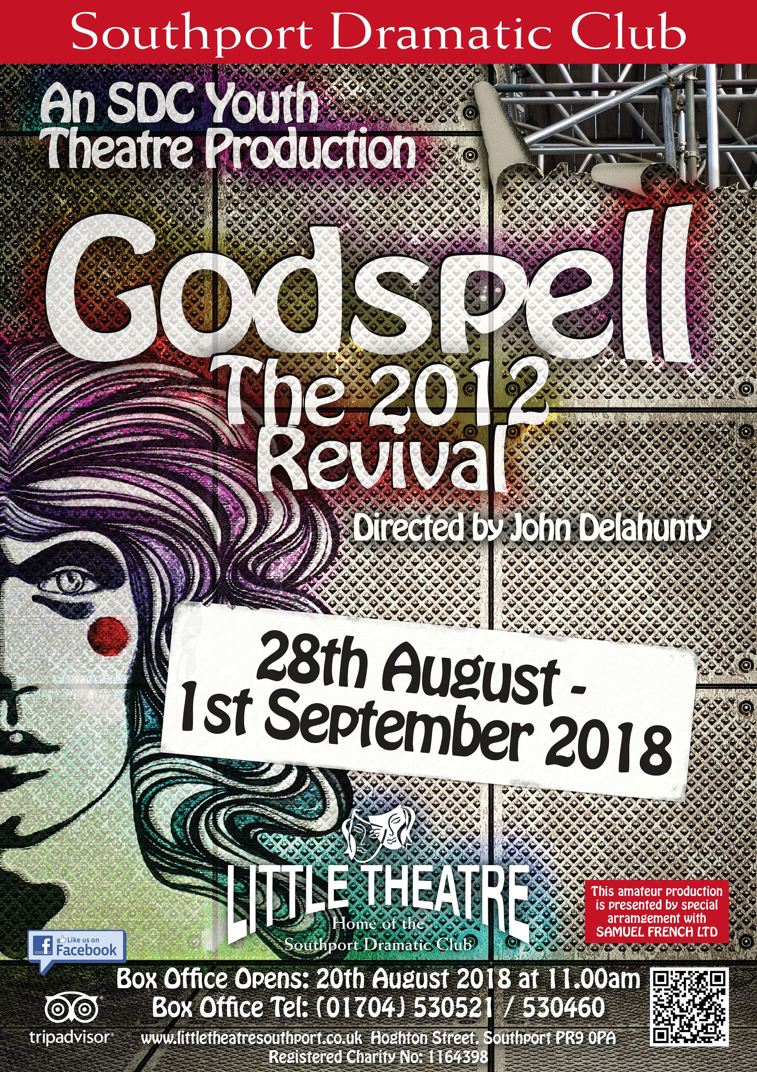Godspell at Southport Theatre