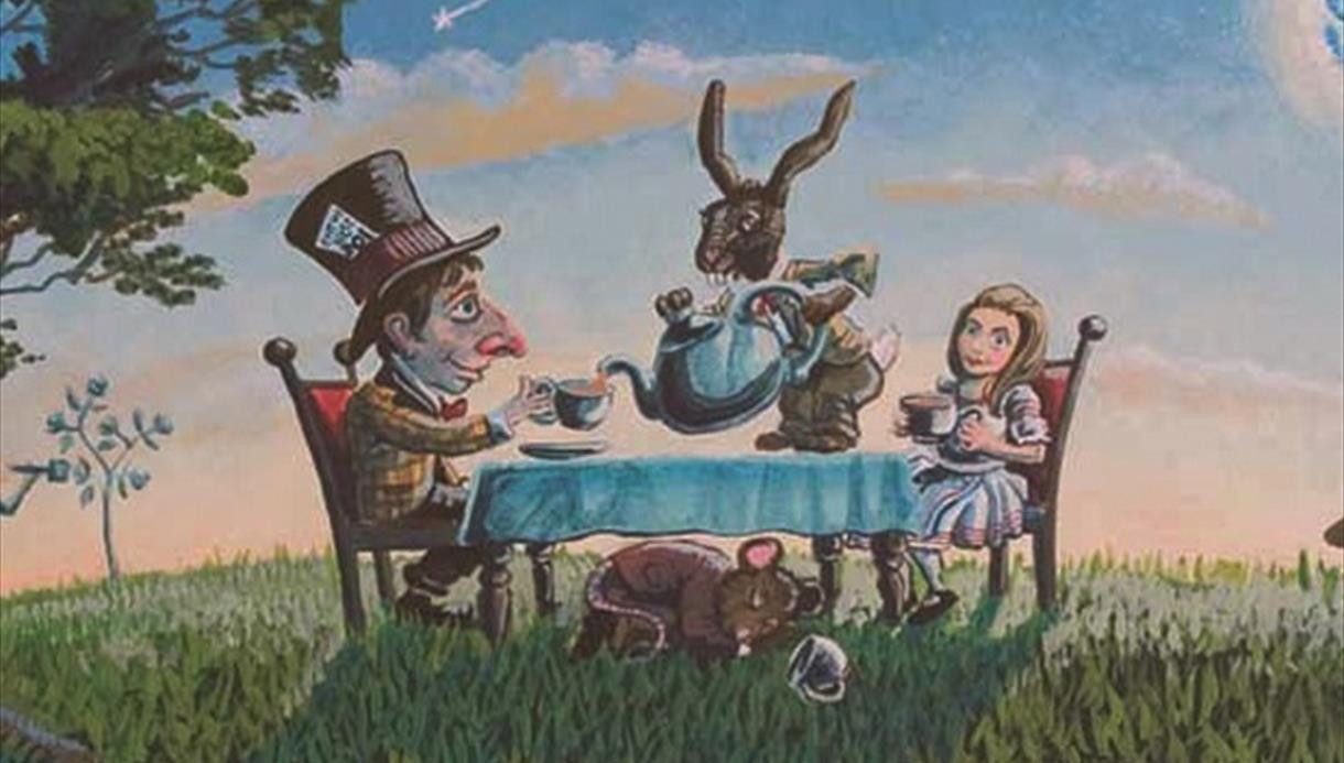 Alice in wonderland at The Atkinson Gallery