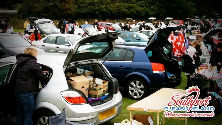 car boot pleasureland Southport