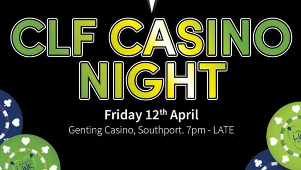 CLF Casiono night in Southport