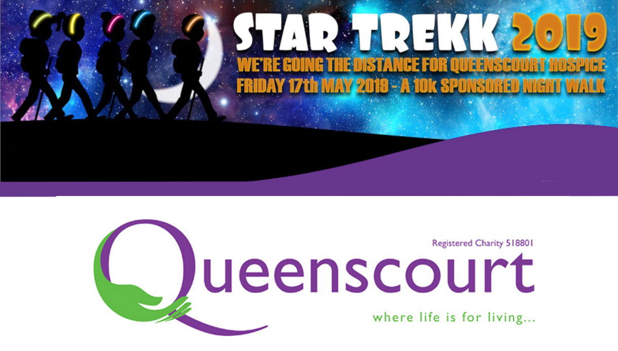 queens court hospice star trekk fundraising walk